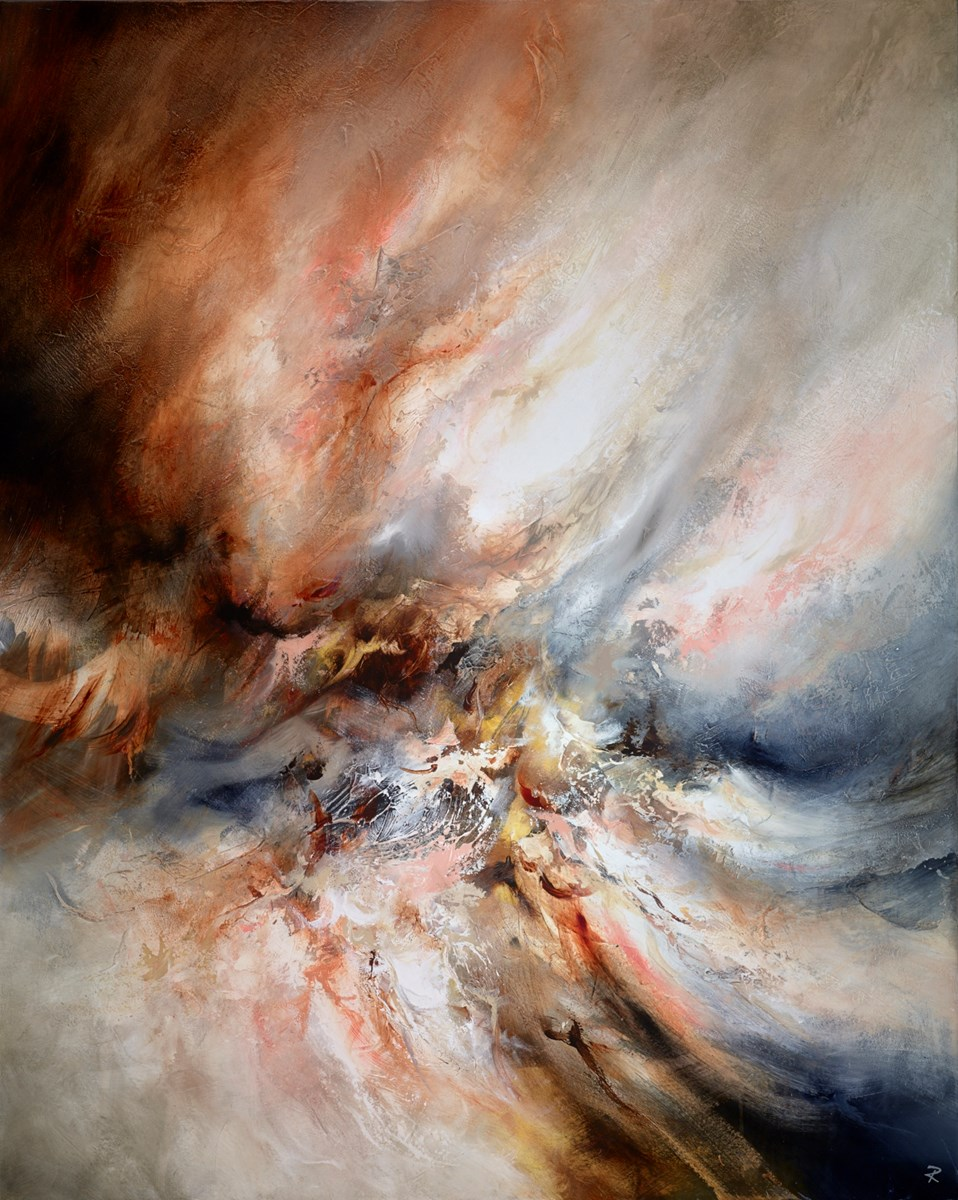 Elemental Rise by chris and steve rocks -  sized 47x59 inches. Available from Whitewall Galleries